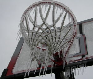 Frozen baskeball